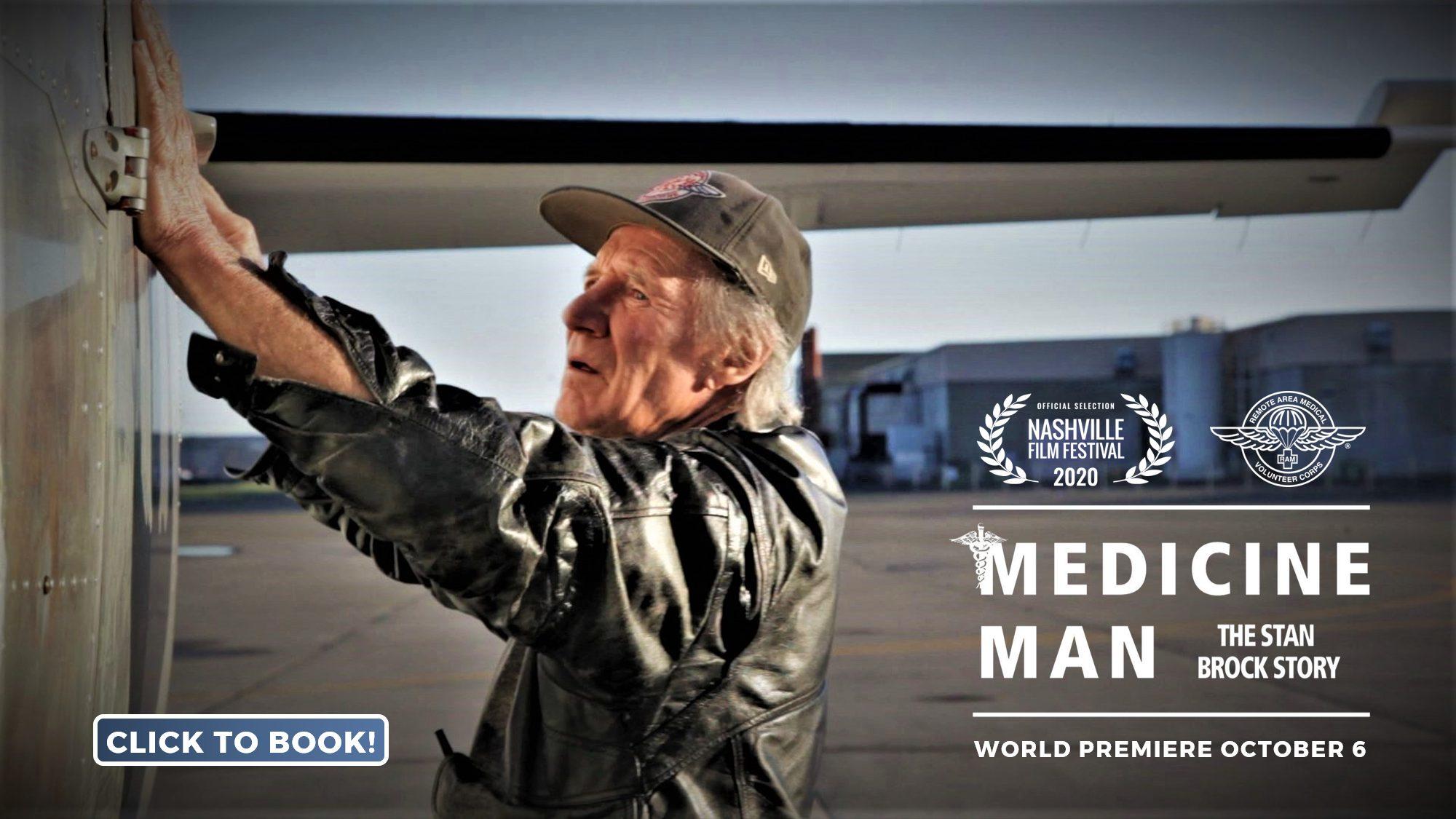 Medicine Man Nashville world premiere banner